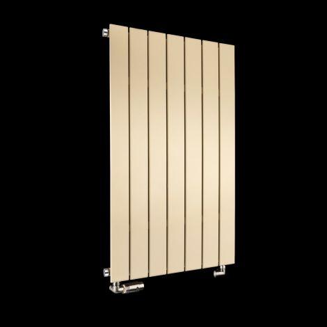 Muro Light Cream Single Panel Radiator 900mm high x 520mm wide