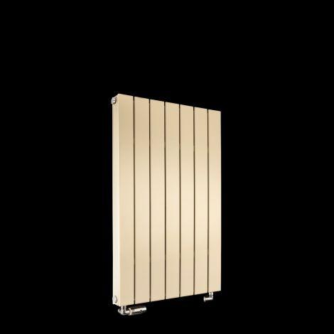 Muro Light Cream Double Panel Radiator 900mm high x 520mm wide
