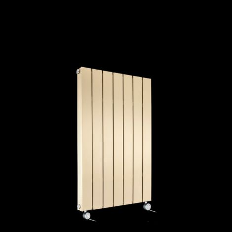 Muro Light Cream Double Panel Electric Radiator 900mm high x 520mm wide