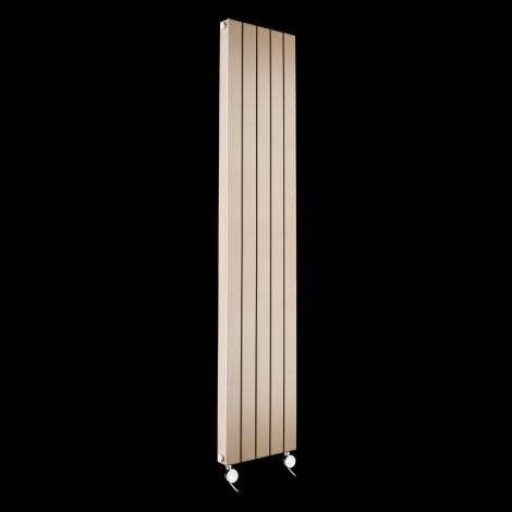 Muro Sand Brown High Output Double Panel Electric Radiator 1800mm high x 370mm wide