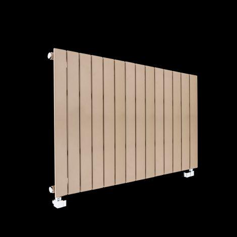 Muro Sand Brown Single Panel Radiator 600mm high x 1045mm wide