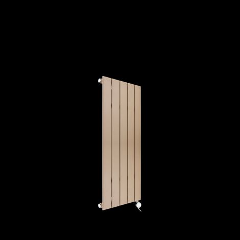 Muro Sand Brown Single Panel Electric Radiator 900mm high x 520mm wide