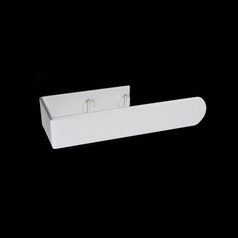 Muro White Towel Rail Attachment - 295mm wide for vertical Muro radiators
