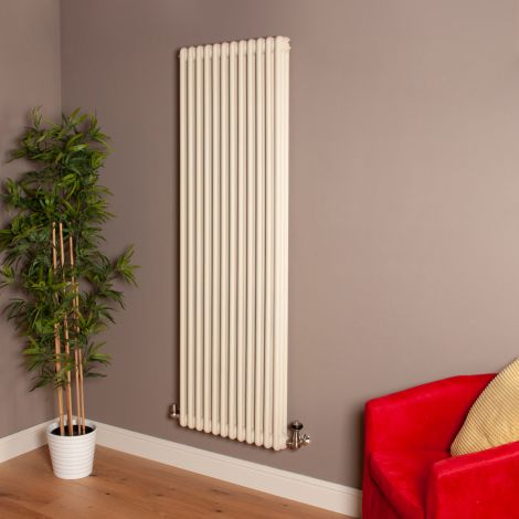 Old Style High Output Matt Cream 3 Column Radiator 1800mm high x 564mm wide,Small Image,Thumbnail Image,Thumbnail Image,Small Image,Thumbnail Image,Small Image