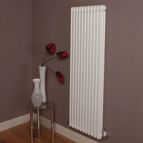 Old Style 7000 BTU Gloss White 3 Column Radiator 1500mm high x 519mm wide,Small Image,Thumbnail Image,Small Image,Thumbnail Image,Thumbnail Image,Small Image