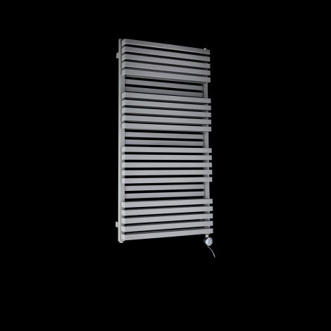 Terma Quadrus Bold Light Grey High Output Double Thermostatic Electric Towel Rail 1185mm high x 600mm wide