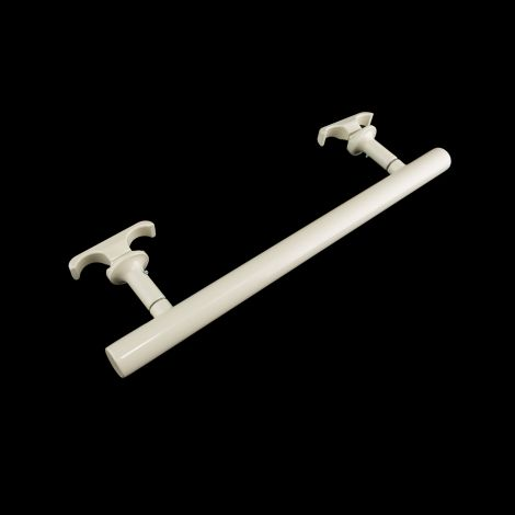 Old Style Gloss Cream Towel Rail Attachment - 370mm wide for Old Style column radiators