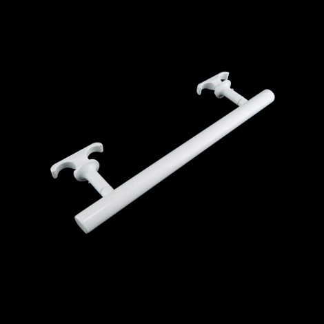 Old Style white towel bar accessory 370mm wide