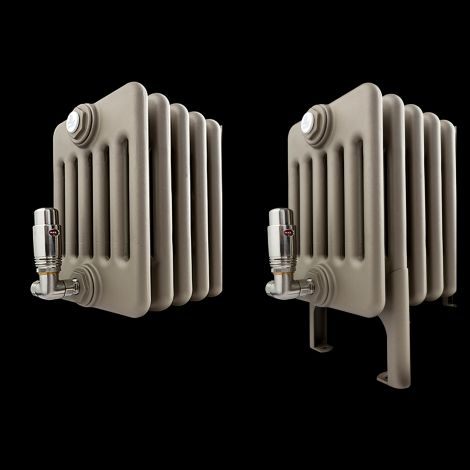 Matching Colour Welded Feet For Freestanding Old Style Column Radiators - 1 x Pair