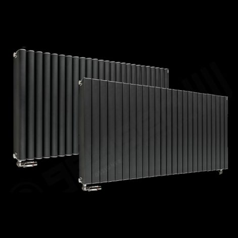 Torpedo High Output Long Anthracite Radiator 600mm high x 1245mm wide