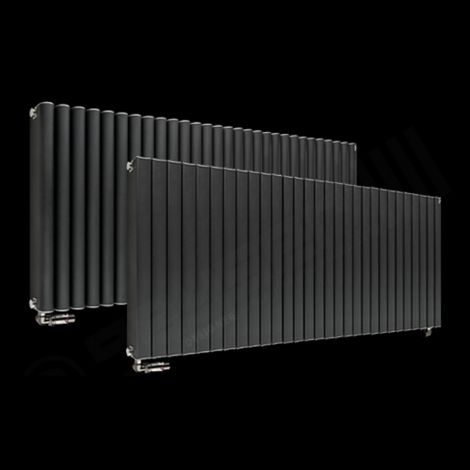 Torpedo High Output Long Anthracite Radiator 600mm high x 1445mm wide