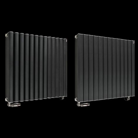 Torpedo High Output Anthracite Radiator 600mm high x 645mm wide