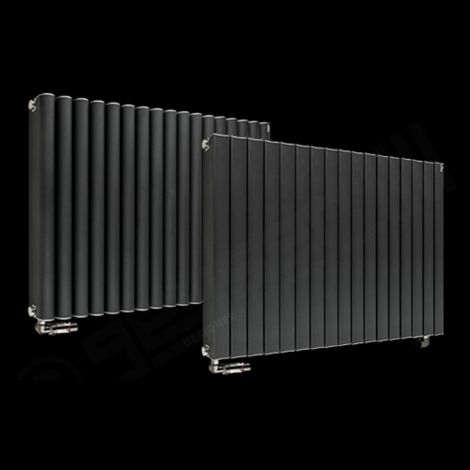 Torpedo High Output Anthracite Radiator 600mm high x 845mm wide