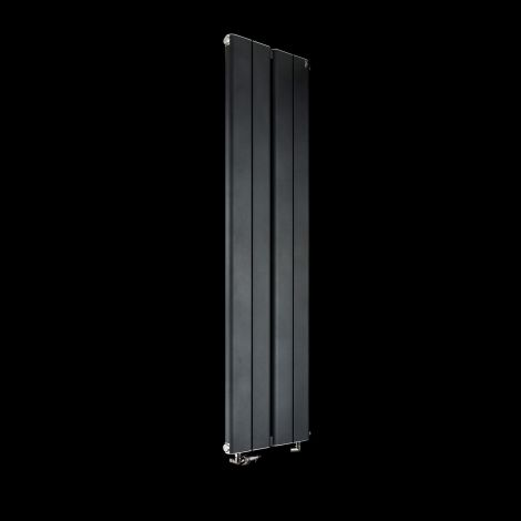 Torpedo Slimline Anthracite Designer Radiator 1500mm high x 395mm wide