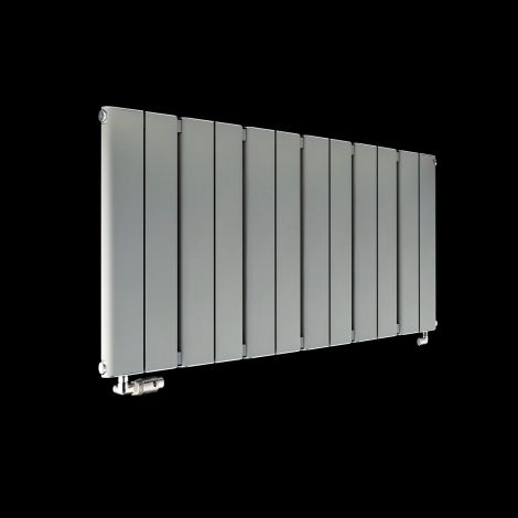 Torpedo Slimline Long Light Grey Radiator 600mm high x 1195mm wide,Thumbnail Image,Small Image,Thumbnail Image,Small Image