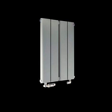 Torpedo Slimline Small Light Grey Radiator 600mm high x 395mm wide