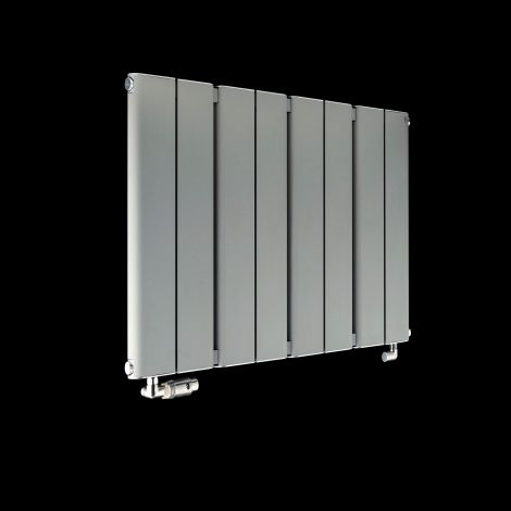 Torpedo Slimline Light Grey Radiator 600mm high x 795mm wide