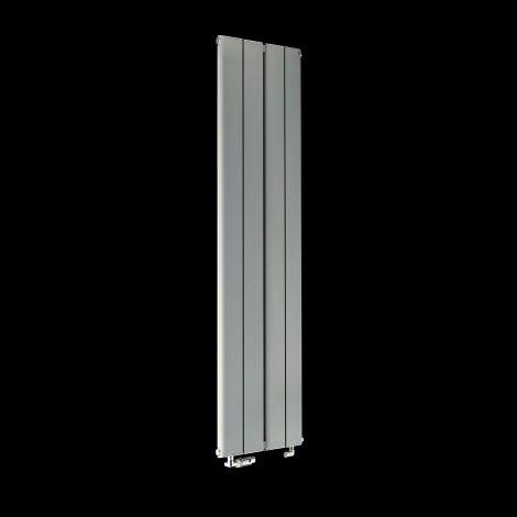 Torpedo Slimline Light Grey Designer Radiator 1500mm high x 395mm wide