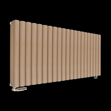 Torpedo High Output Sand Brown Radiator 600mm high x 1045mm wide