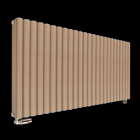 Torpedo High Output Long Sand Brown Radiator 600mm high x 1245mm wide