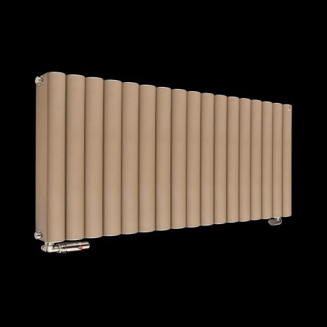 Torpedo High Output Sand Brown Radiator 600mm high x 845mm wide