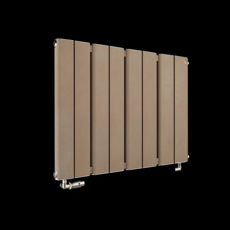 Torpedo Slimline Sand Brown Radiator 600mm high x 795mm wide