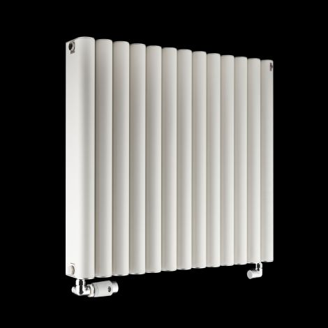 Torpedo High Output White Radiator 600mm high x 645mm wide