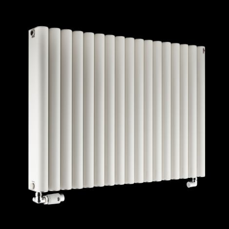 Torpedo High Output White Radiator 600mm high x 845mm wide