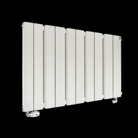 Torpedo Slimline White Radiator 600mm high x 995mm wide