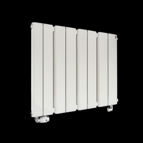 PRODUCTION SAMPLE - Torpedo Slimline White Gloss Radiator 600mm high x 795mm wide