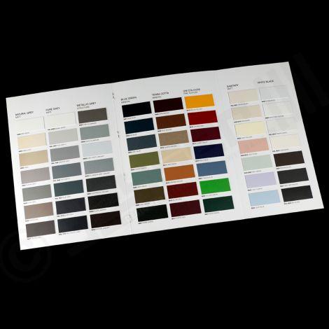Colour Chart For Vasco Radiators