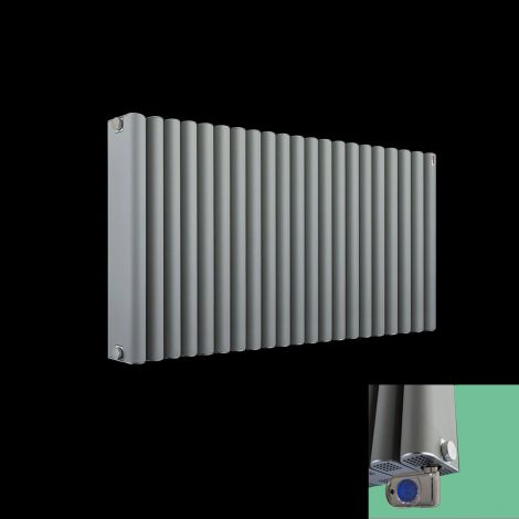 Torpedo Grey Thermostatic Electric Radiator - 600x 1045mm