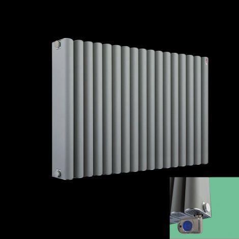 Torpedo Electric Grey Designer Radiator - 600x 845mm