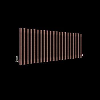 Circolo Chocolate Brown Designer Radiator 500mm high x 1195mm wide