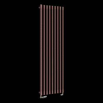 Circolo High BTU Chocolate Brown Designer Radiator 1800mm high x 480mm wide,Small Image,Small Image,Small Image