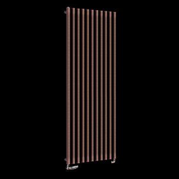 Circolo High BTU Chocolate Brown Designer Radiator 1800mm high x 590mm wide,Small Image,Small Image,Small Image
