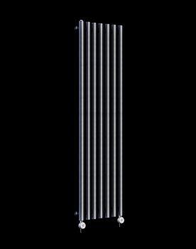 Circolo Tall Thin Dark Grey Electric Radiator 1800mm high x 370mm wide