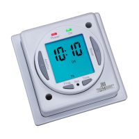 24hr 7 day programmable timer for electric radiators and towel rails