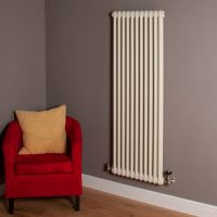 Old Style Matt Cream 2 Column Radiator 1500mm high x 519mm wide,Thumbnail Image,Small Image,Small Image,Thumbnail Image,Thumbnail Image,Small Image