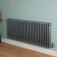 Old Style High Output Mid Grey 3 Column Radiator 600mm high x 1329mm wide,Small Image,Small Image,Small Image,Small Image,Small Image,Small Image