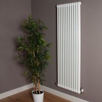 Old Style High Output Gloss White 2 Column Radiator 1800mm high x 564mm wide,Small Image,Thumbnail Image,Small Image,Thumbnail Image,Thumbnail Image,Small Image