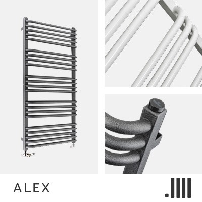 Alex Electric Towel Rail Range