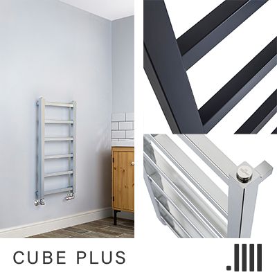 Cube Plus Towel Rail Range Geyser