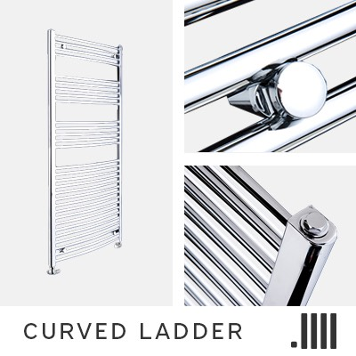 Curved Ladder Electric Towel Rail Range