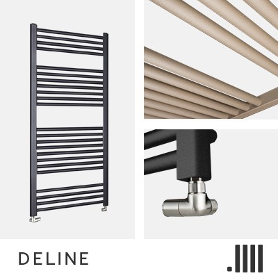 Deline Electric Towel Rail Range