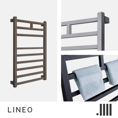 Lineo Central Heating Towel Rail Range