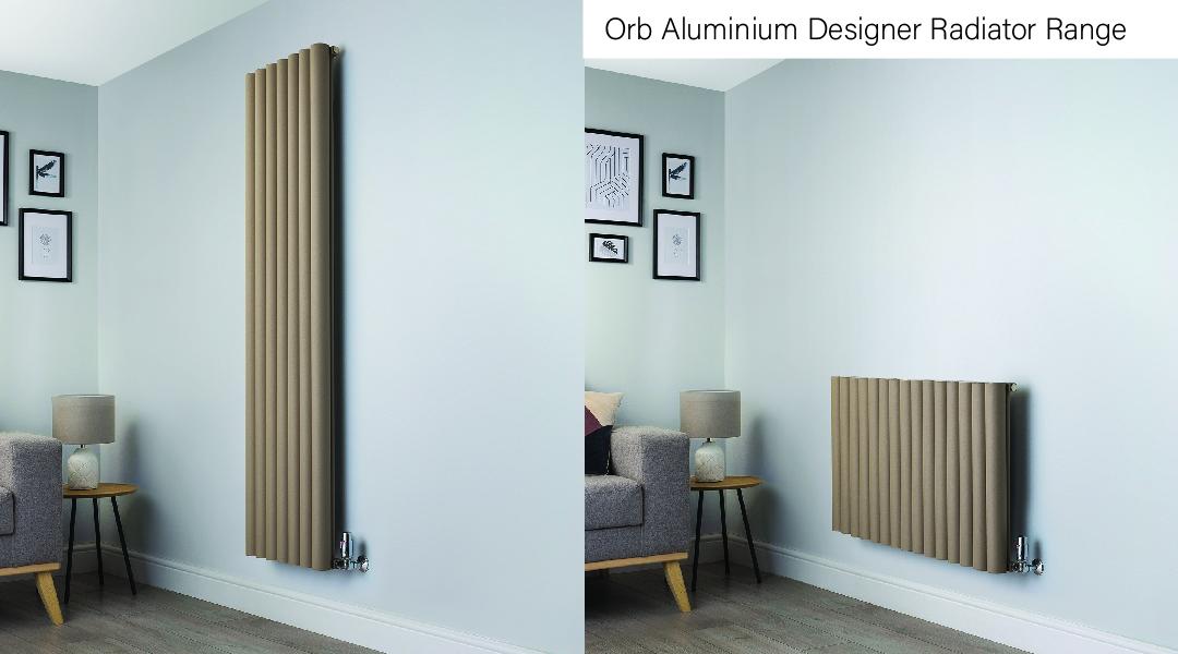 Orb Aluminium Designer Radiator Range