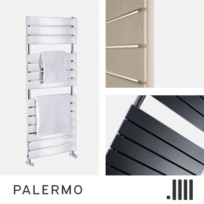Palermo Electric Towel Rail Range
