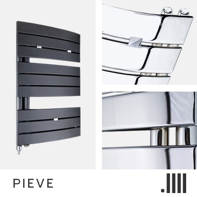Pieve Central Heating Towel Rail Range