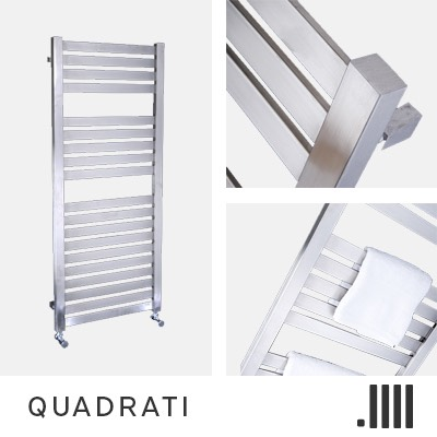 Quadrati Electric Towel Rail Range